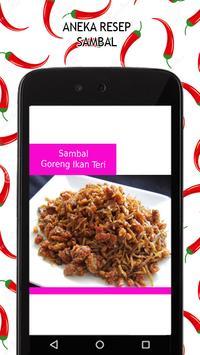 Aneka Resep Sambal apk screenshot
