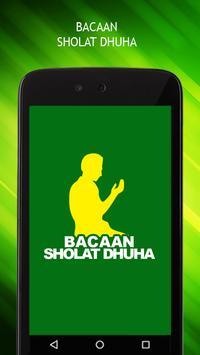 Bacaan Sholat Dhuha poster