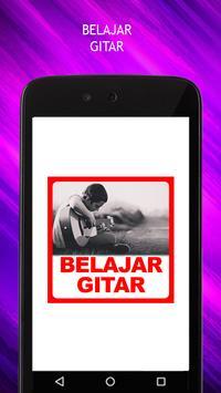 Belajar Gitar poster
