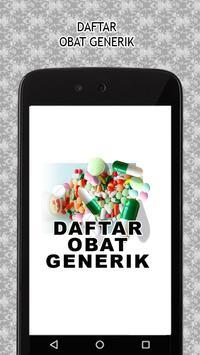 Daftar Obat Generik Terlengkap poster