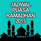 Jadwal Puasa Ramadhan 2015 icon