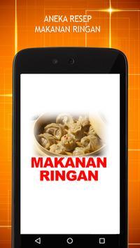 Resep Makanan Ringan poster