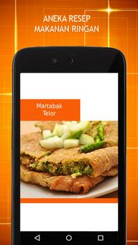 Resep Makanan Ringan apk screenshot