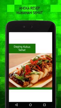 Resep Makanan Sehat apk screenshot