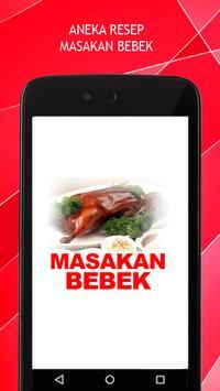 Resep Masakan Bebek poster