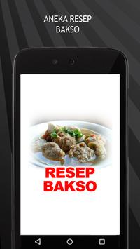 Resep Bakso poster
