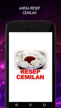 Resep Cemilan poster