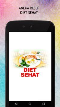 Resep Diet Sehat poster