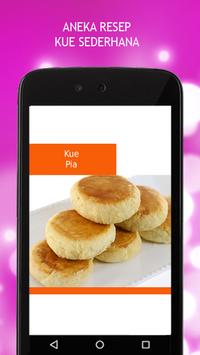 Resep Kue Sederhana apk screenshot
