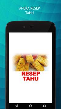 Resep Tahu poster