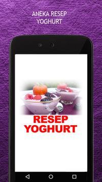 Resep Yoghurt poster
