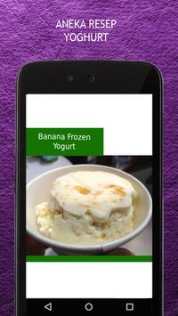 Resep Yoghurt apk screenshot
