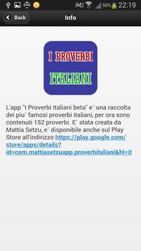 I Proverbi Italiani apk screenshot