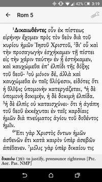 Greek New Testament Reader apk screenshot