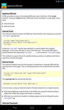 VBScript Pro Free apk screenshot