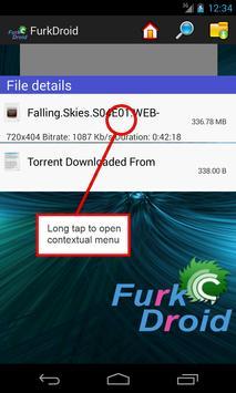 FurkDroid apk screenshot