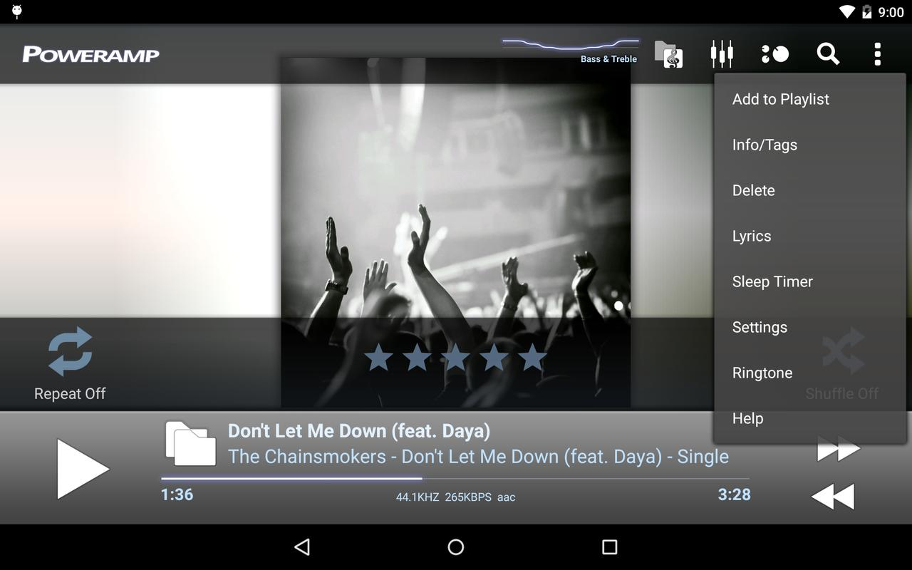 poweramp music player trial apk download free music audio app for android. Black Bedroom Furniture Sets. Home Design Ideas