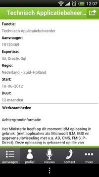 IT-Staffing ZZP App apk screenshot