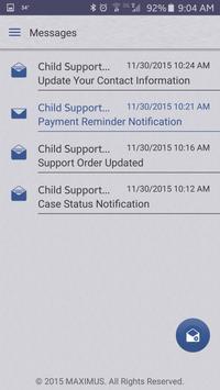 MAXIMUS Child Support apk screenshot