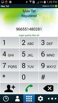 MaxTel apk screenshot