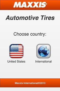 Maxxis Automotive Tires poster