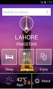 Lahore City Guide poster