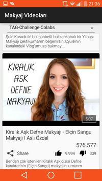 Makyaj Videoları apk screenshot