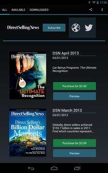Direct Selling News Magazine poster