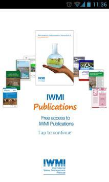 IWMI Publications poster