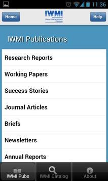 IWMI Publications apk screenshot