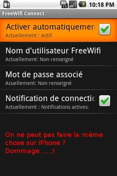 FreeWifi Connect apk screenshot