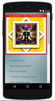 Ajian Kanuragan Pulau Jawa apk screenshot