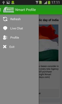 Nmart Profile apk screenshot