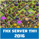 FHX COC Server TH 11 icon