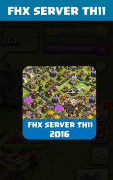 FHX COC Server TH 11 apk screenshot