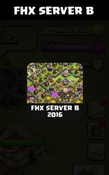 FHX COC Server B apk screenshot