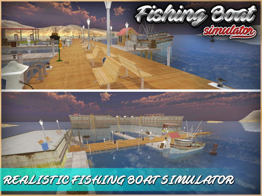 Fishing boat simulator 3d apk download free simulation for Boat fishing games