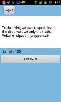 Unsub Quote for Criminal Minds apk screenshot