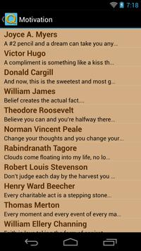 Great Motivational Quotes apk screenshot