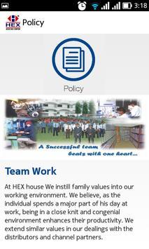 HEX INDIA apk screenshot