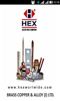 HEX INDIA poster