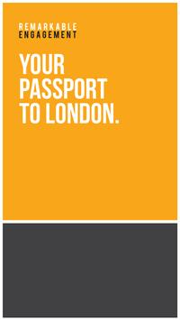Passport To London poster