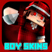 Boy Skins For Minecraft PE icon