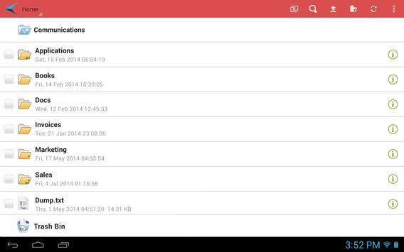 InPacket apk screenshot