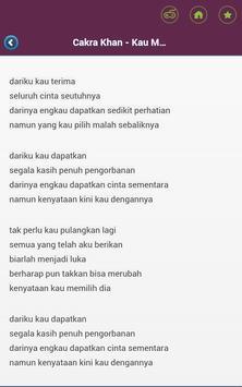 Lirik Lagu Nusantara apk screenshot
