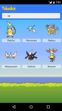 Pokedex Mega apk screenshot