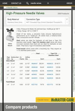 McMaster-Carr apk screenshot