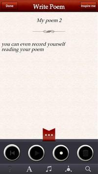 The Poetry App apk screenshot