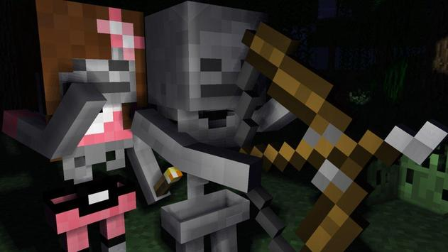 Skins for Minecraft - Skeleton apk screenshot