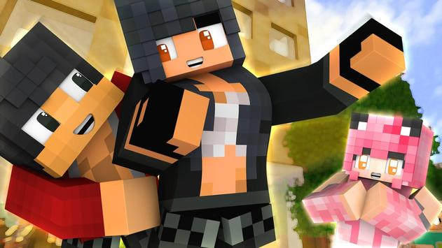Skins for Minecraft - Aphmau poster